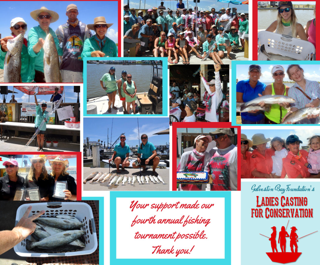 GBF Thank You Galveston Bay Foundations Ladies Casting for Conservation 2016