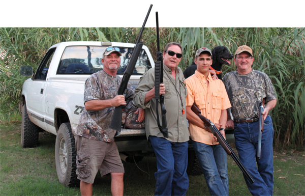 Picture Dove hunt