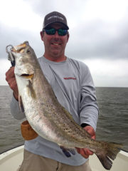 Steve hillman 7lb trout 180x240 Fishing with Capt. Steve Hillman