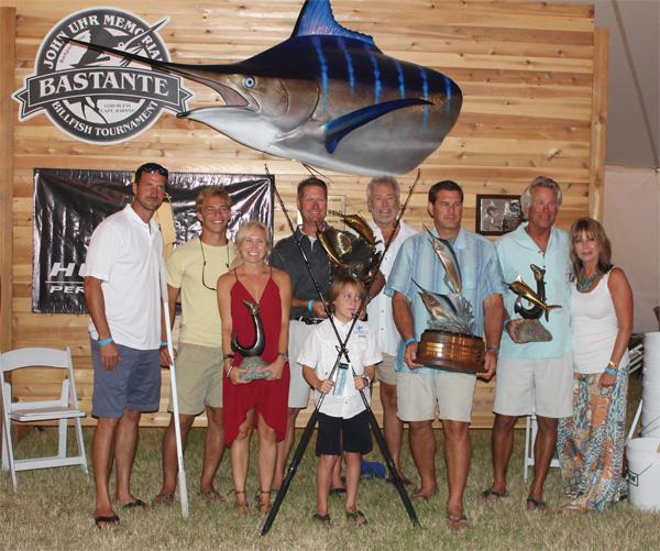 bastantewinners 2015 Bastante John Uhr Memorial Billfish Tournament