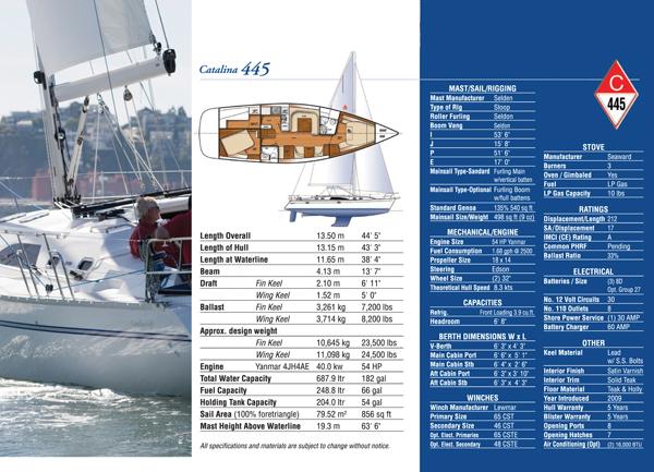catalina Catalina Yachts 445