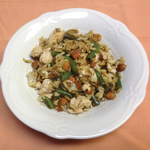 chicken rice recipe Simple Galley Recipes Using Canned Goods