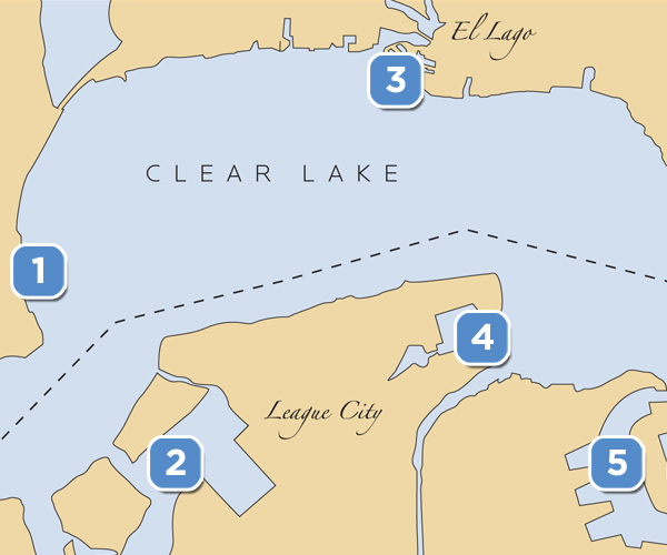 clearlakemarinas1 Guide to Clear Lake Marinas