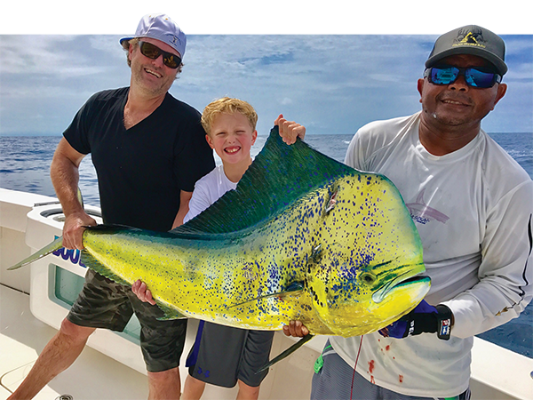 dorado holden Youngster Lands Big Bull Dorado