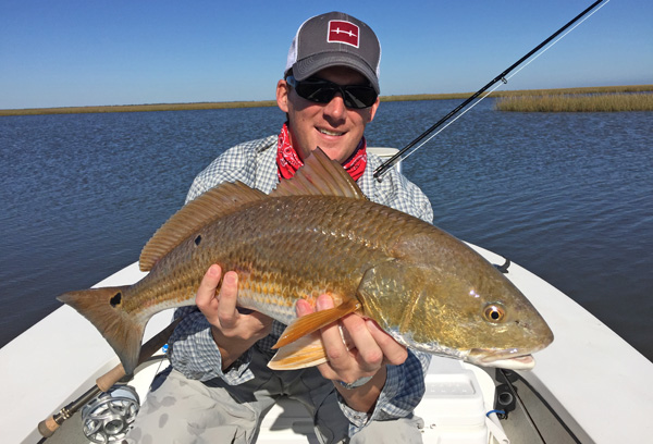 fly fishing reds Fools Rush In