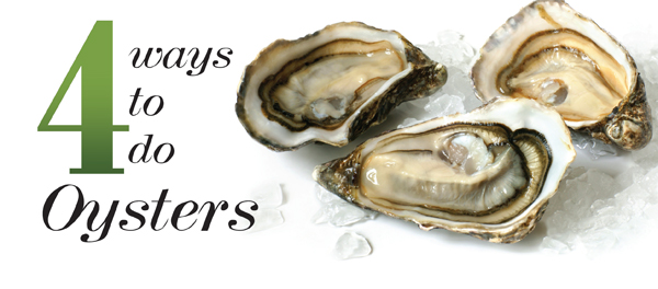 how to serve fresh oysters