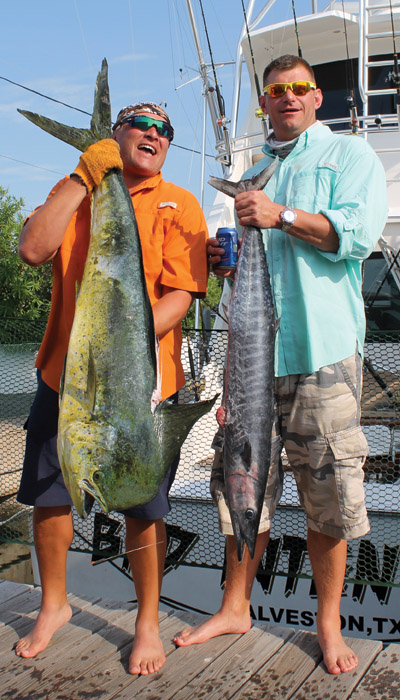 Bad intentions sportfishing charters gulf coast mariner for Fishing charter galveston