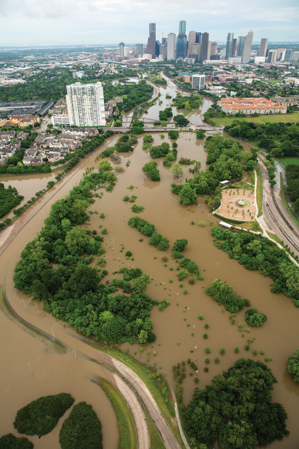 houston april floods Houstons Flood Problem