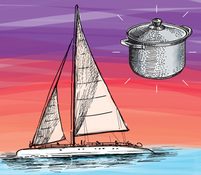 illustrationsail The Galley: One Pot Meals