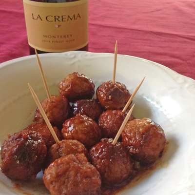meat ball recipe The Galley   Appetizers and Wine Pairings