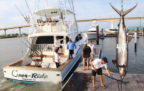 over ride Texas Billfish Tournament Wrap Up
