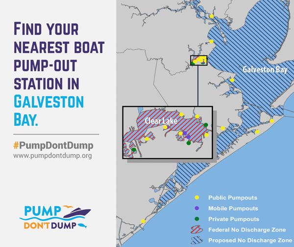 pump dump map Galveston Bay Bacteria After the Storms