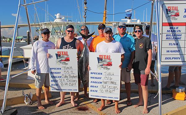 seadollars Texas Billfish Tourney Results