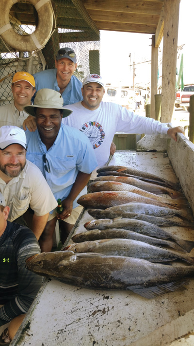 spectacular trout reds Hot Weather, Hot Galveston Fishing