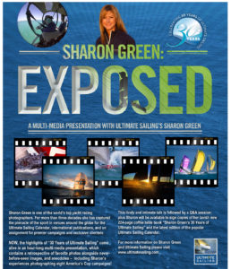 SGREEN EXPOSED flyer 258x300 Top Yachting Photographer to Speak at the Houston Yacht Club