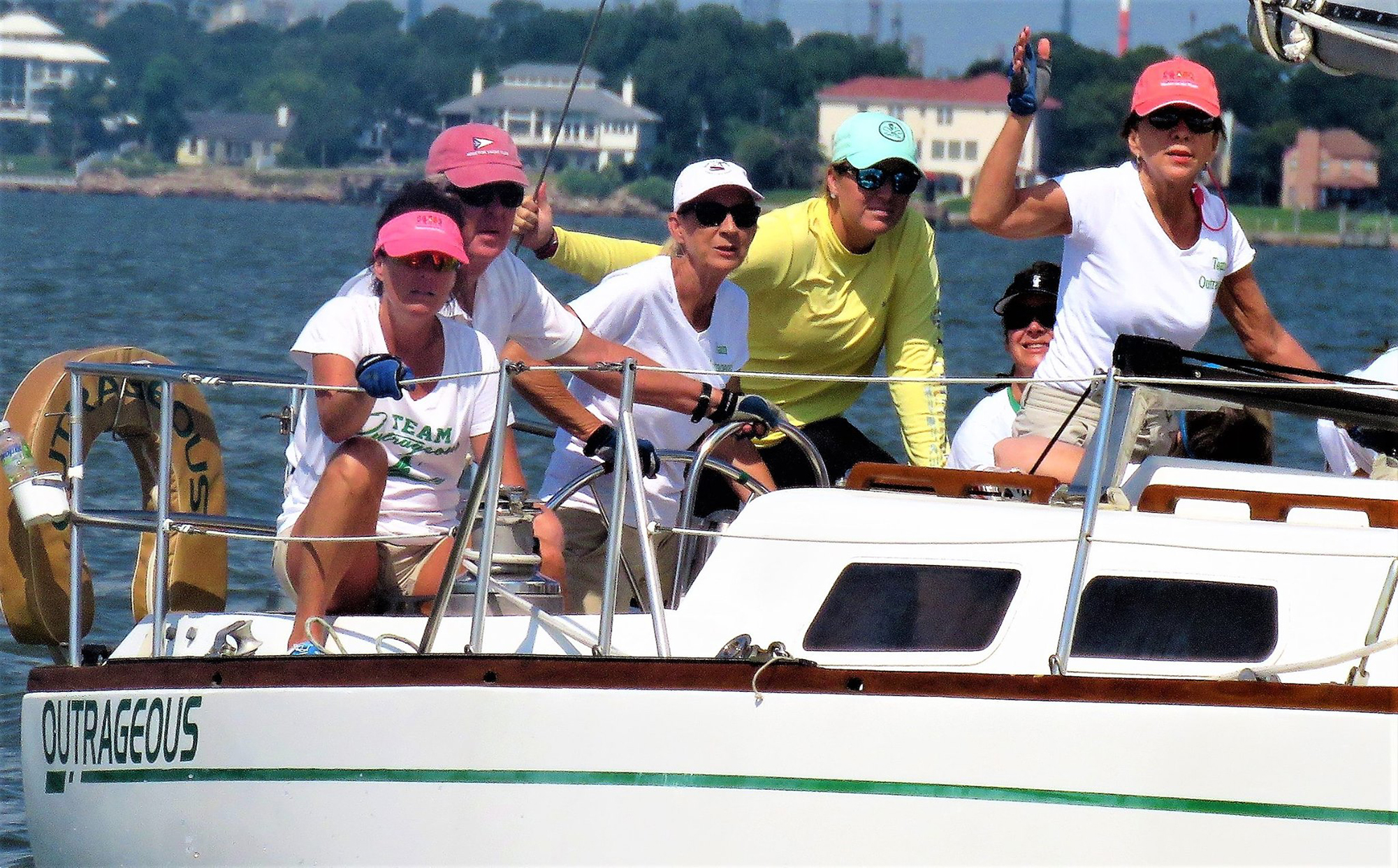 WSA Team O BY ED MATUSZAK 1024x636 Calling all Women Sailors: Celebrating 31 years of Windward Bound Sailing Camp June 6 9, 2018