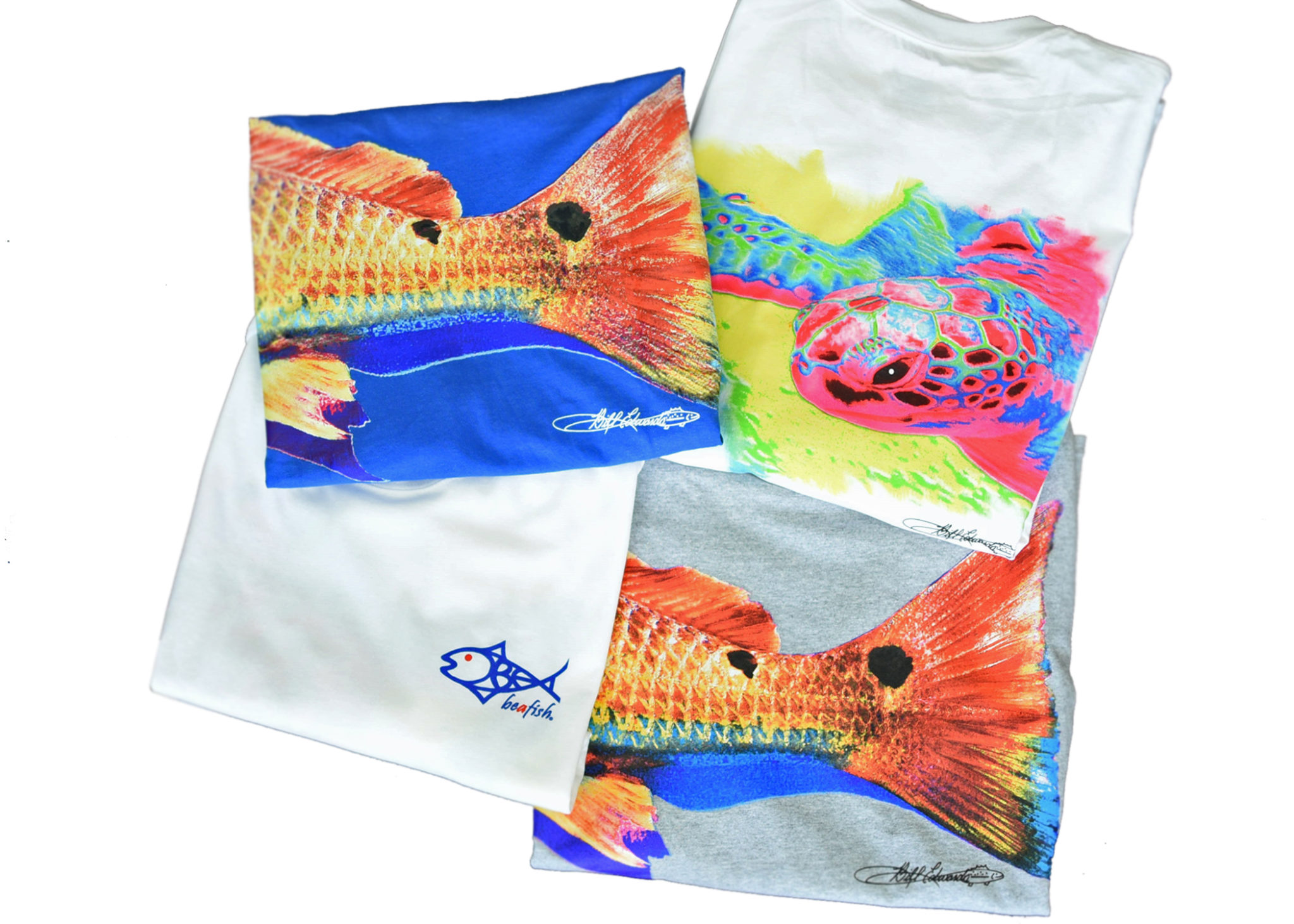 Cotton tees 300x214 Art by Bill Edwards and Beafish Designs