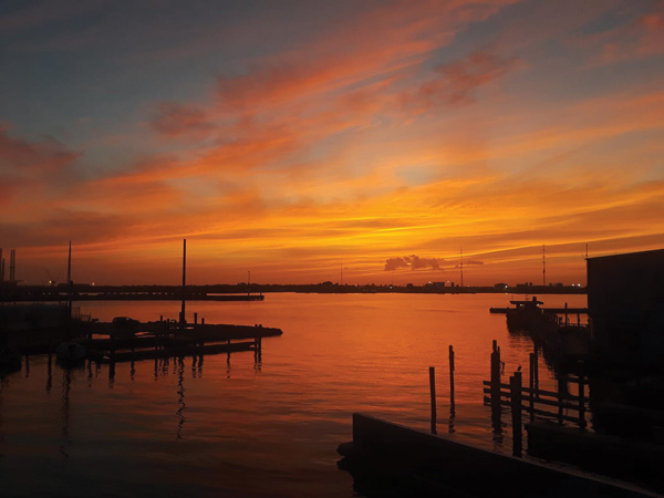 sunset Marina Bar & Grill at GYB