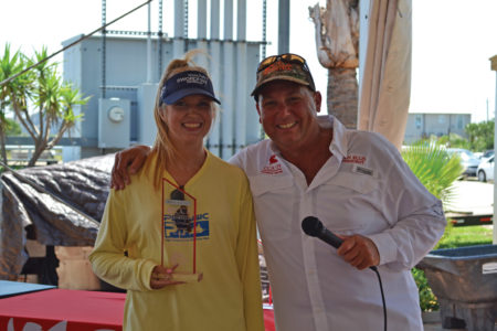 1st place stringer 450x300 CCA Galvestons Annual Ladies Fishing Tournament
