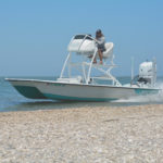 21 SUPER CAT WHITE SEAFOAM 350 VROD 150x150 The 21 Super Cat from Haynie Custom Bay Boats