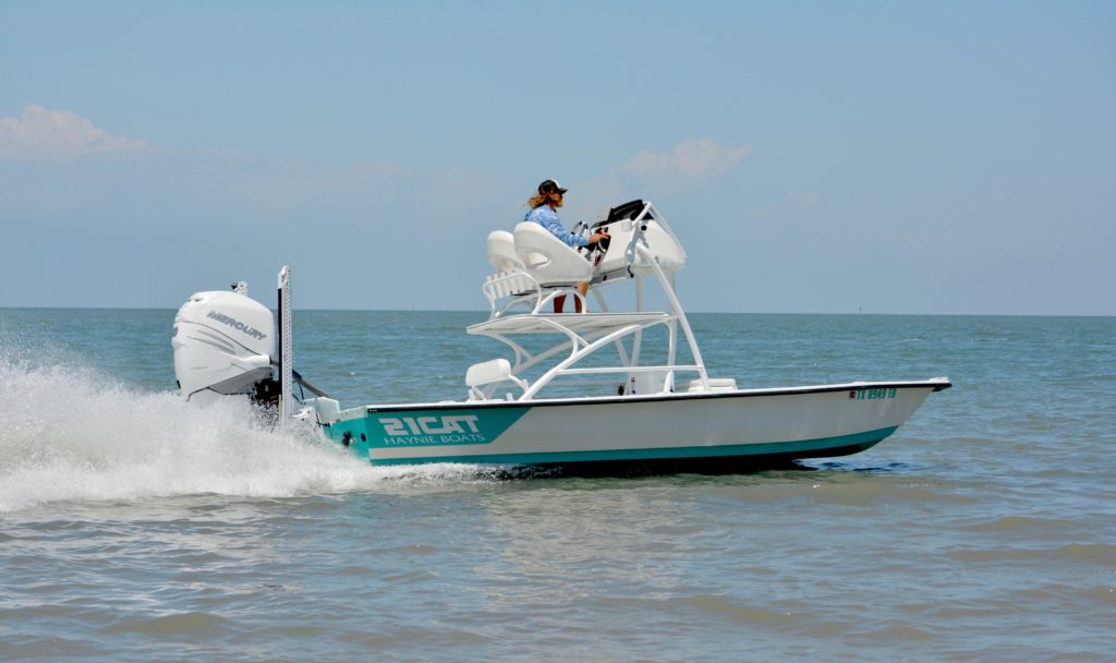 The 21 Super Cat from Haynie Custom Bay Boats