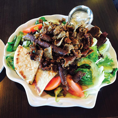 greek salad Olympia Grill opens its League City location this fall