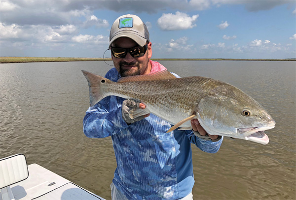 soule2 The Keys to Shallow Redfish Success