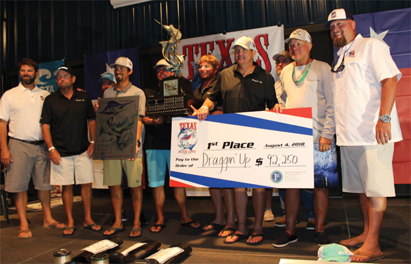 team draggin up marlin Draggin Up Wins the 2018 Texas Billfish Classic