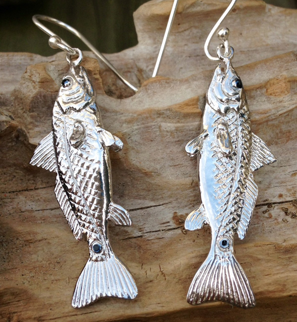 redfish earrings Fishmas Gift Guide