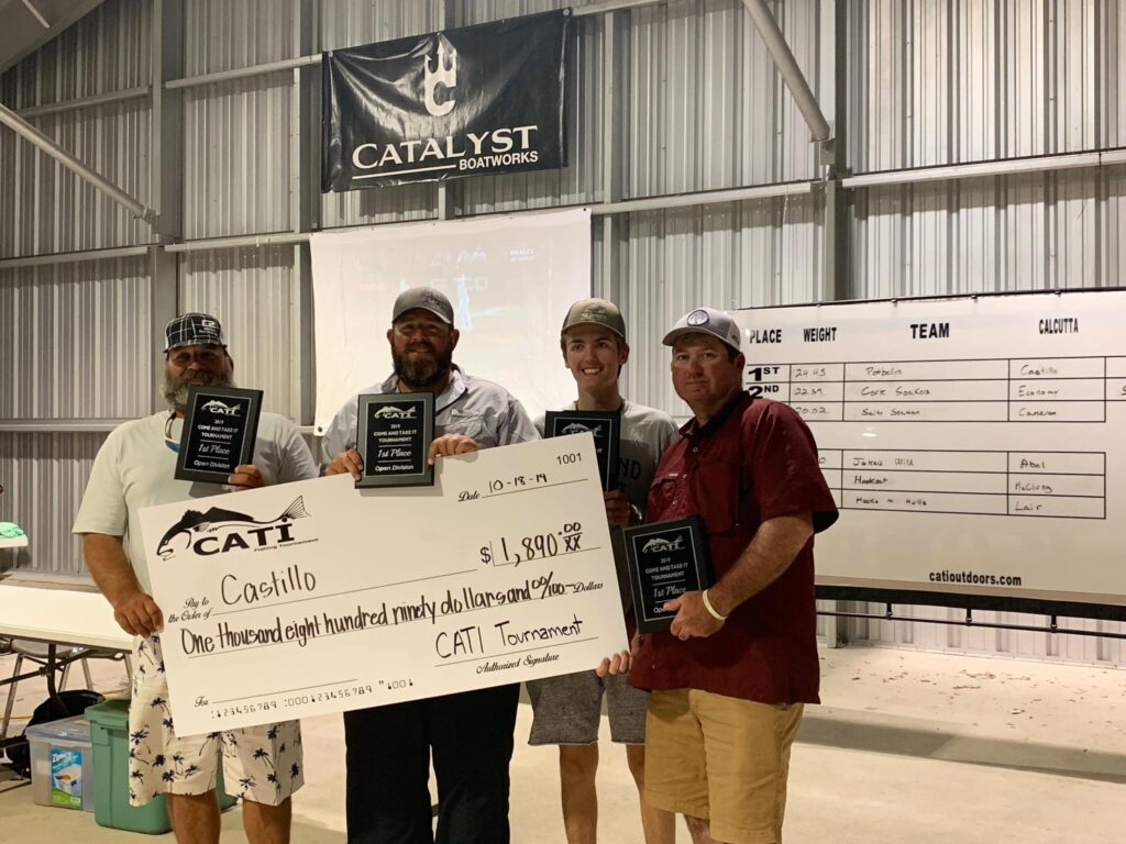 cati first place 1024x768 The Come and Take It Tournament: Fishing, Camaraderie and Fundraising