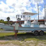 robbie with boat 150x150 Mowdy Boats